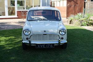 1960 Morris Mini DeLuxe