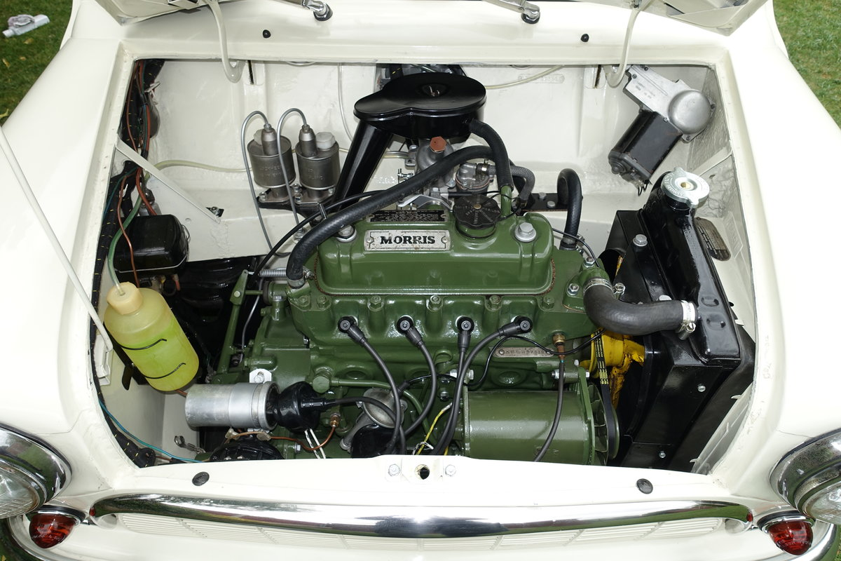1960 Morris Mini DeLuxe SOLD (picture 5 of 6)