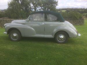 1953 Morris minor convertible