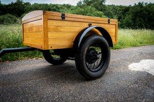 Unique wooden trailer