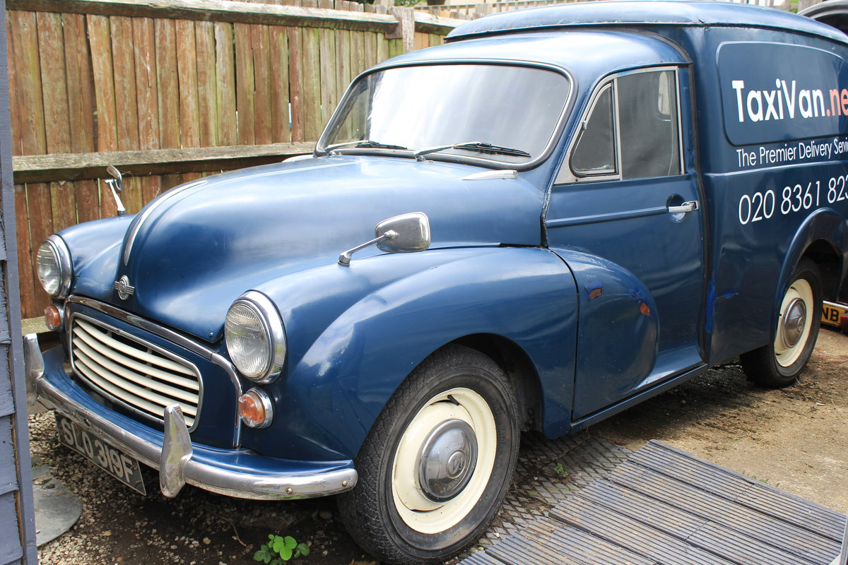 1968 Morris Minor Van (Rare Classic) For Sale (picture 1 of 6)