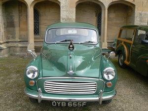 1967 Morris Minor - Class Winner, Full History, NEC Car