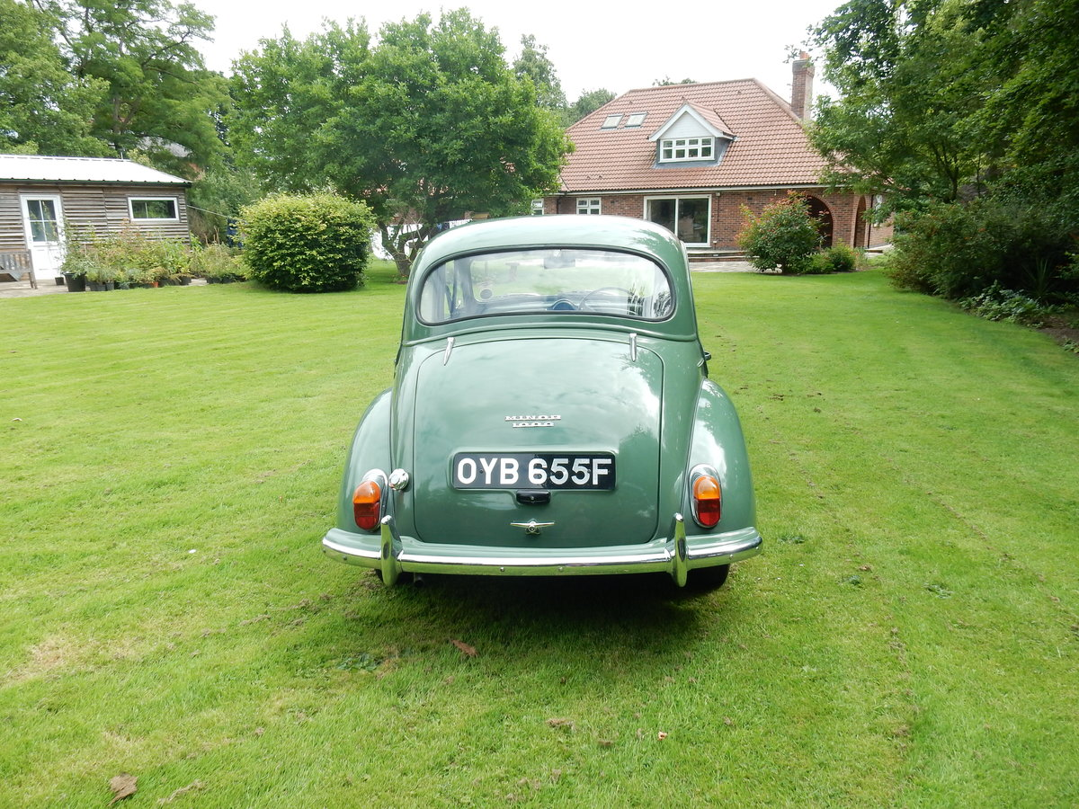 1967 Morris Minor - Class Winner, Full History, NEC Car SOLD (picture 6 of 6)
