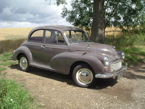 1963 Delightful Morris MInor - Lovely Condition