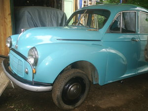 Morris minor saloon, very early, nice...
