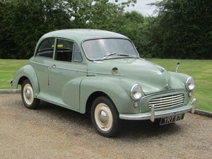 1958 Morris Minor 1000 at ACA 22nd August