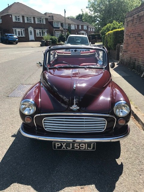 Morris minor 1000 1971 convertible, Price reduced. SOLD (picture 1 of 6)