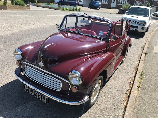 Morris minor 1000 1971 convertible, Price reduced. SOLD (picture 2 of 6)