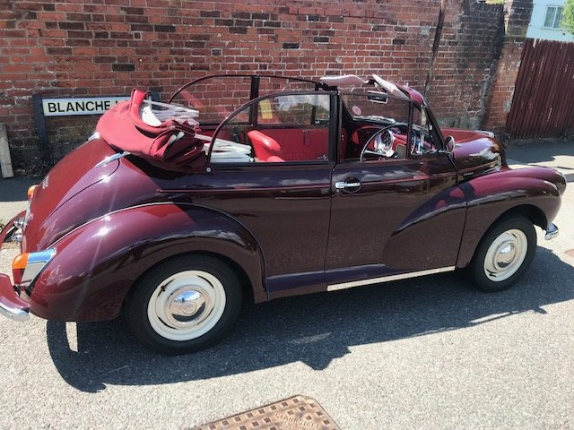 Morris minor 1000 1971 convertible, Price reduced. SOLD (picture 3 of 6)