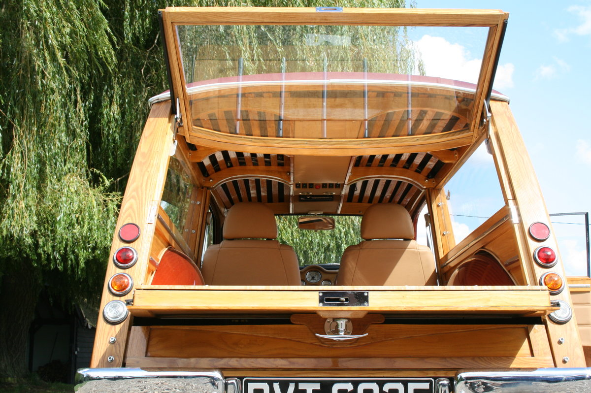 """1968 Morris Minor Traveller Custom Hot Rod""""Woodie""""Estate.Stunning For Sale (picture 5 of 6)"""