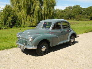 1953 Morris Minor 918cc Split Screen 4 Dr