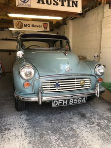 Treasured Morris Minor – Very Reluctant Sale