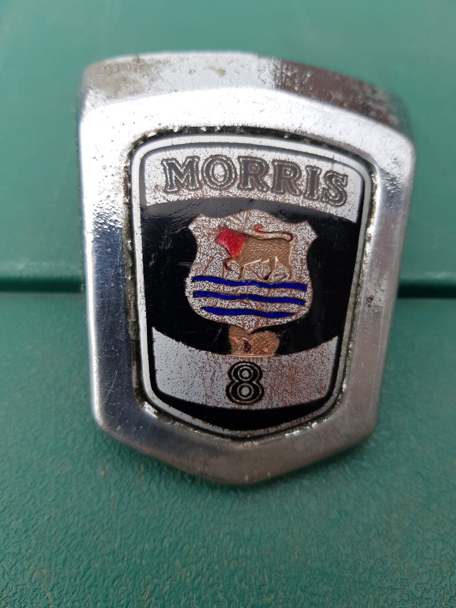 1934 Morris 8 Badge For Sale (picture 3 of 3)