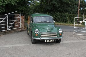 Picture of 1960 Morris Minor Traveller De-Luxe, Exceptional History For Sale