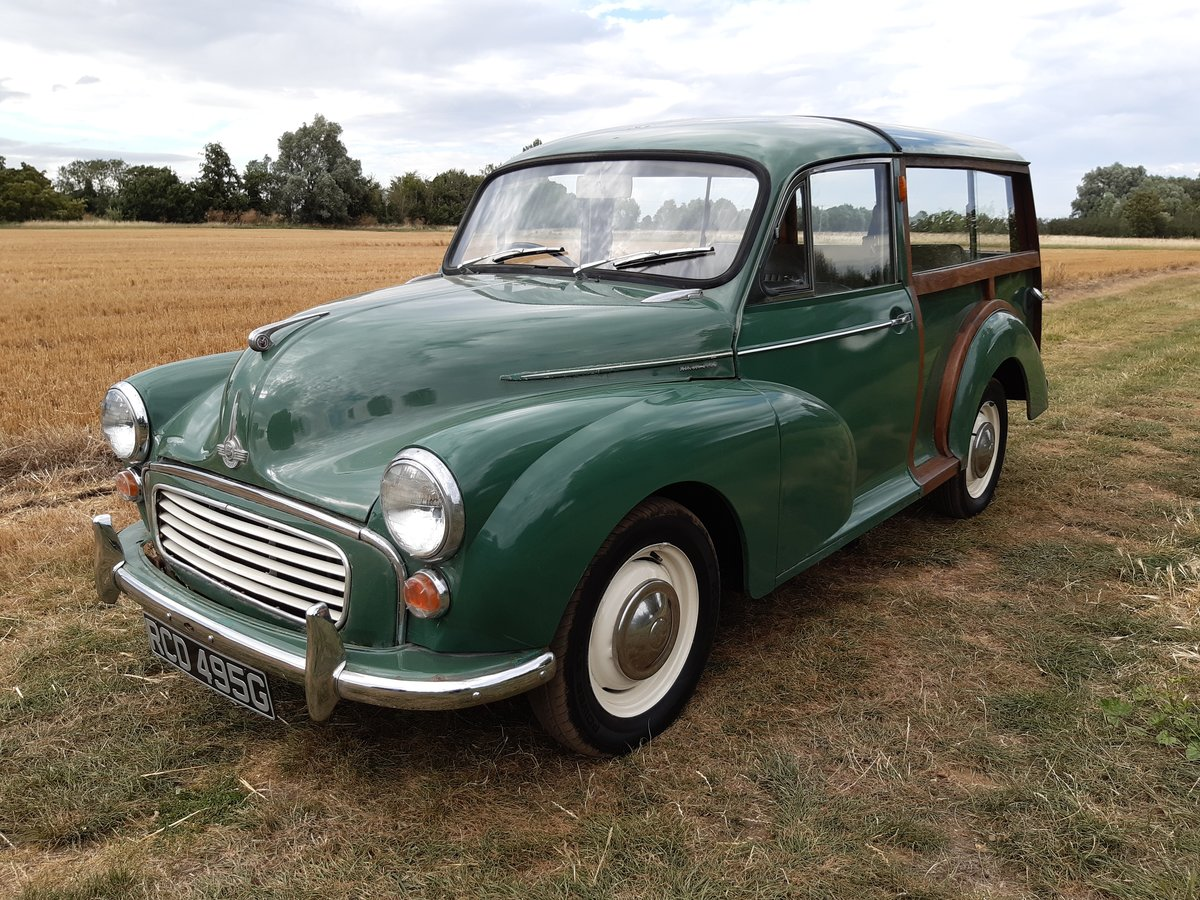 1969 Morris Traveller  SOLD (picture 1 of 6)