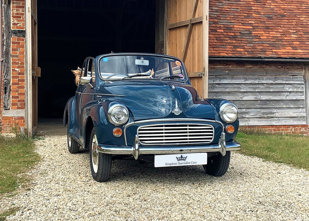 1967 Morris Minor Convertible (Factory Original) Restored example For Sale (picture 1 of 6)