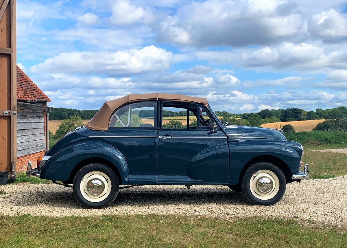 1967 Morris Minor Convertible (Factory Original) Restored example For Sale (picture 2 of 6)