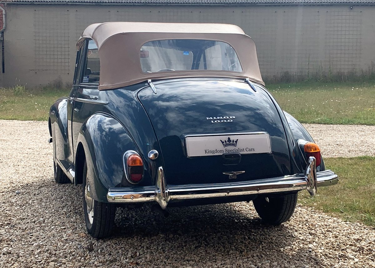 1967 Morris Minor Convertible (Factory Original) Restored example For Sale (picture 4 of 6)