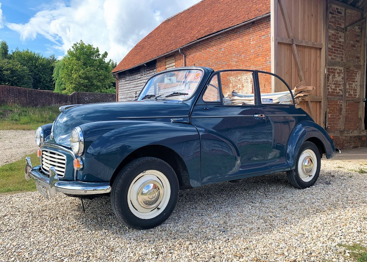 1967 Morris Minor Convertible (Factory Original) Restored example For Sale (picture 5 of 6)