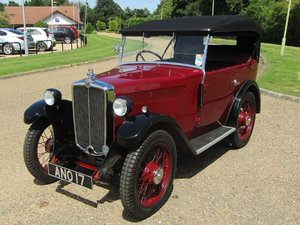 1933 Morris Minor SV 4 Seater Tourer at ACA 22nd August  For Sale