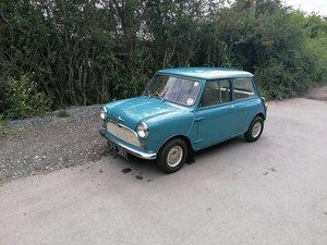 1961 morris mini minor 1000 mk1