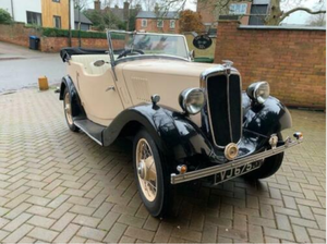 Rare 1934 Morris 8 Pre-series 4 Seater Tourer  For Sale by Auction