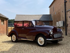 1971 Morris Minor Convertible. Absolutely Stunning. For Sale