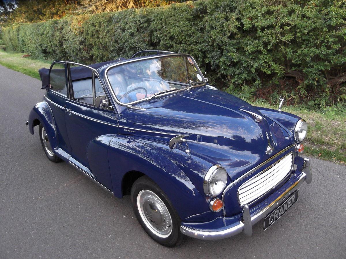1966 Morris Minor Convertible SOLD (picture 1 of 6)