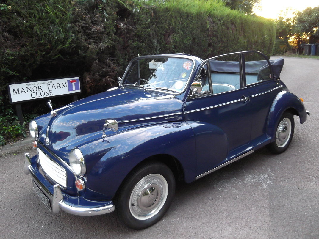 1966 Morris Minor Convertible SOLD (picture 5 of 6)