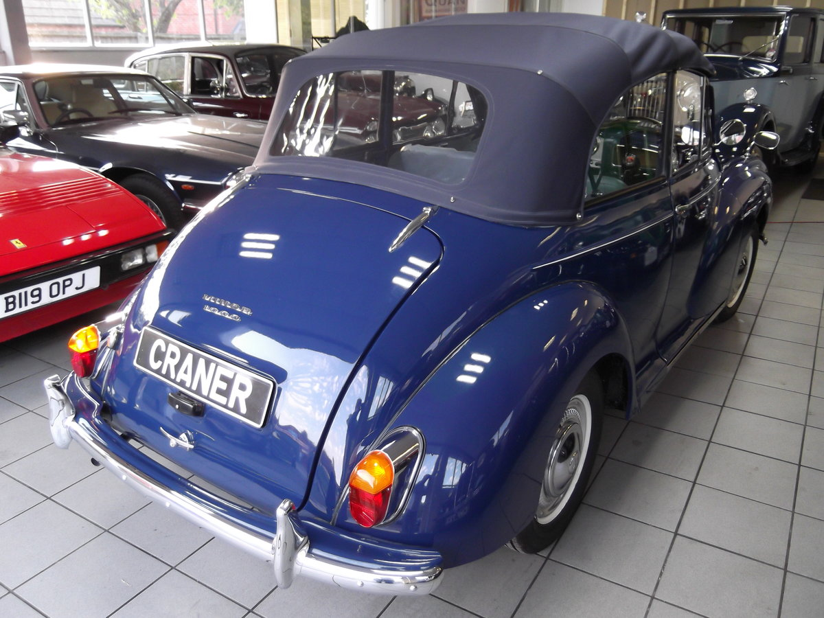 1966 Morris Minor Convertible SOLD (picture 6 of 6)
