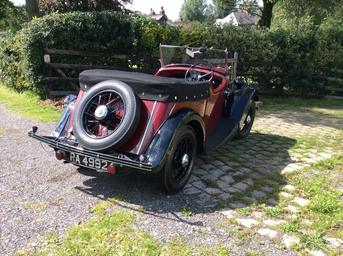 1936 Morris 8 For Sale (picture 1 of 6)