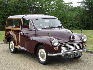 1970 Morris Minor 1000 Traveller at ACA 22nd August For Sale