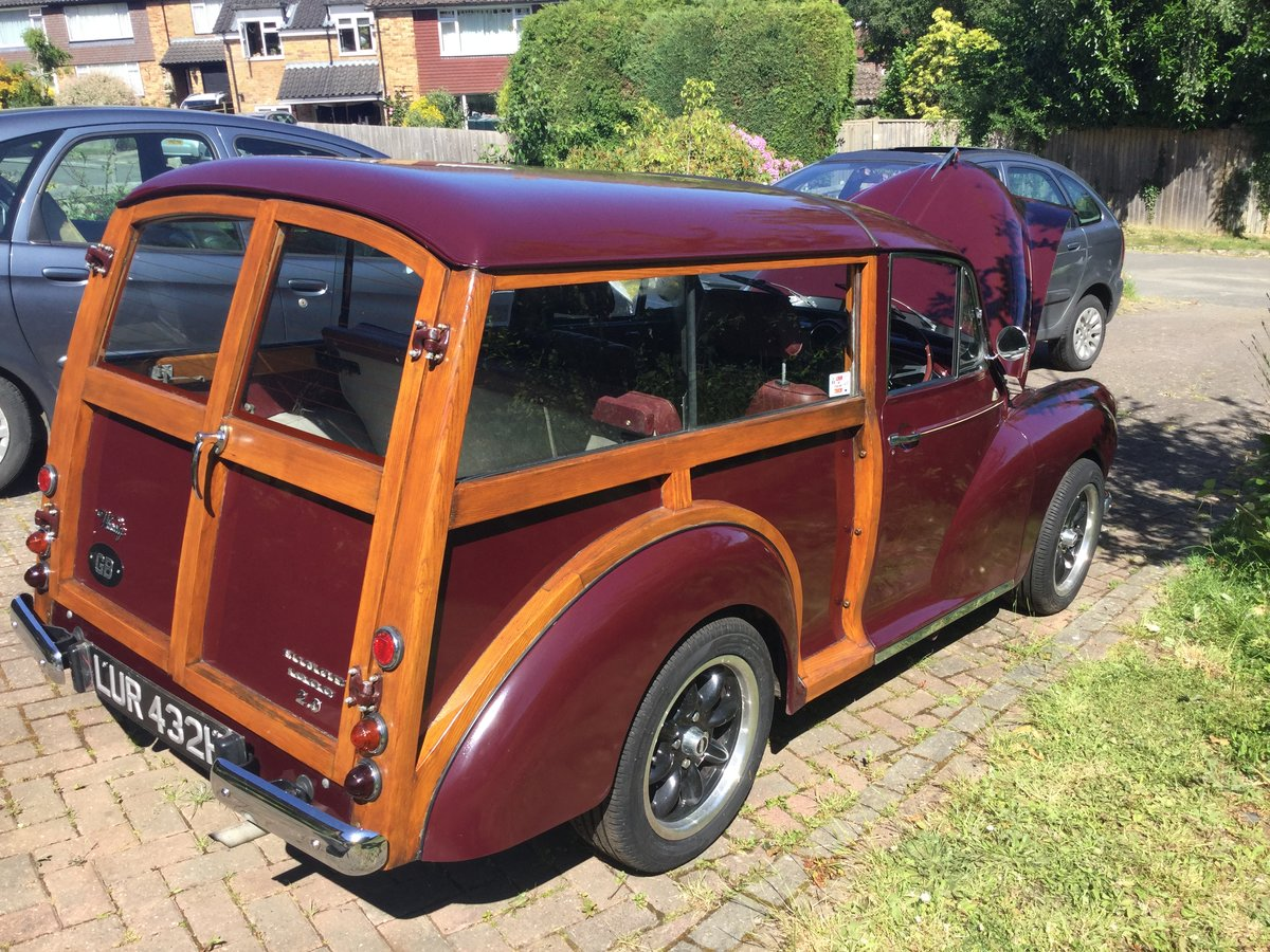 1969 Morris Minor Traveller Twincam SOLD (picture 2 of 6)