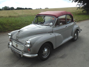 Picture of 1966 Morris Minor 1000 Convertible SOLD