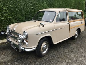 Morris Oxford Traveller series 11