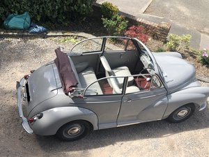 Morris Minor Convertible Great Example from HCC