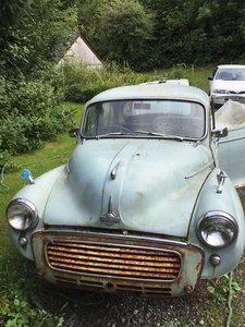 1959 Morris  4 door saloon