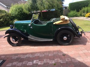 1934 Morris 8 2 seater Tourer, rare early model,