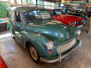 **OCTOBER ENTRY** 1969 Morris Minor Traveller For Sale by Auction