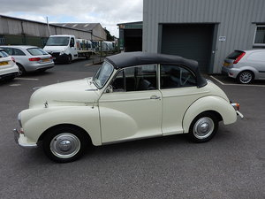 Picture of 1970 MORRIS MINOR 1000 Convertible SOLD
