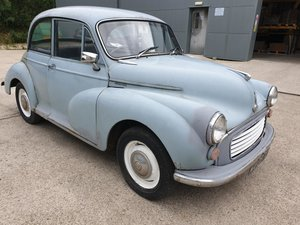**OCTOBER ENTRY** 1965 Morris Minor 1000 For Sale by Auction