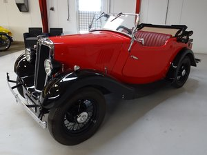 1937  Morris Eight Tourer – Series I