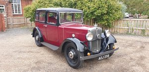 **OCTOBER ENTRY** 1934 Morris 10/4 For Sale by Auction