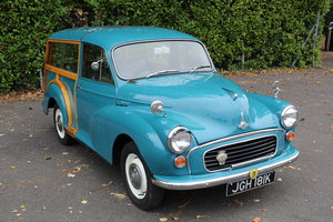 1971 Morris Minor Traveller 1000  - To be auctioned 30-10-20
