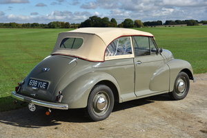 1950 Morris Minor Tourer lhd Derrington head