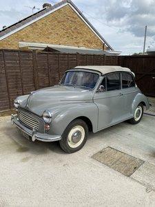 1966 Morris Minor Convertible Auction Sale 19th September