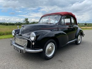 1963 Morris Minor Convertible 1098cc