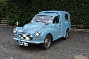 1969 Morris Minor 1/4 Ton Van