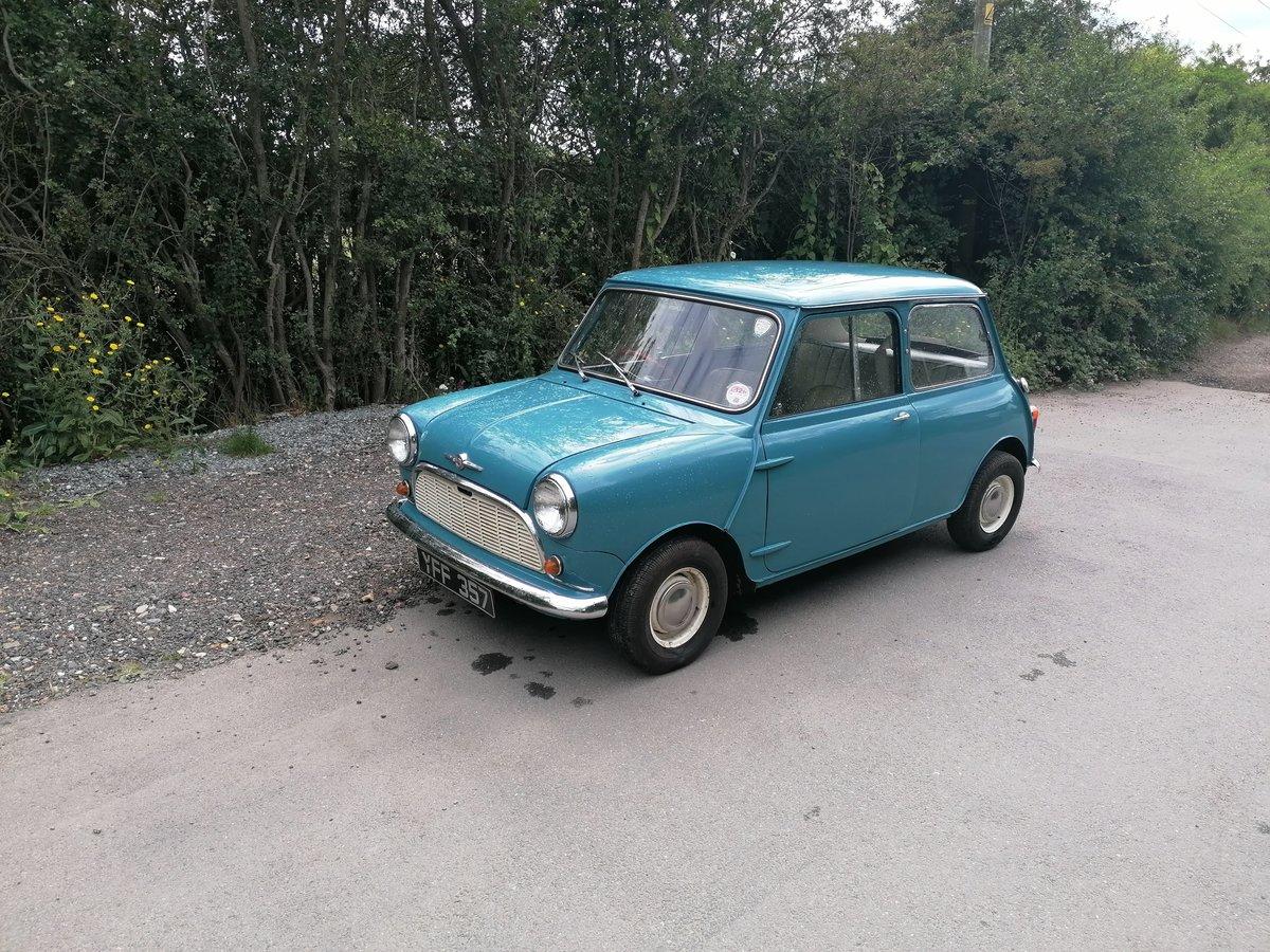 1961 morris mini minor 1000 mk1  For Sale (picture 1 of 6)