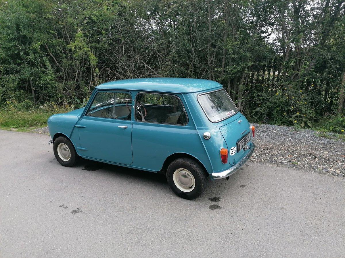 1961 morris mini minor 1000 mk1  For Sale (picture 2 of 6)